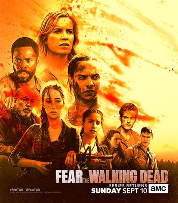 دانلود فصل چهارم سریال Fear The Walking Dead ترس از مردگان متحرک